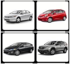 3000 Vehicles from Honda
