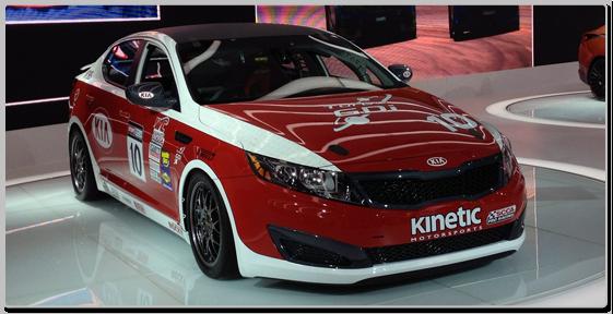 Kia Optima 2012 Detroit Grand Prix