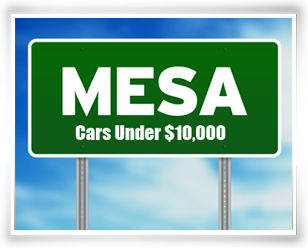 Mesa Arizona Cars under $10,000