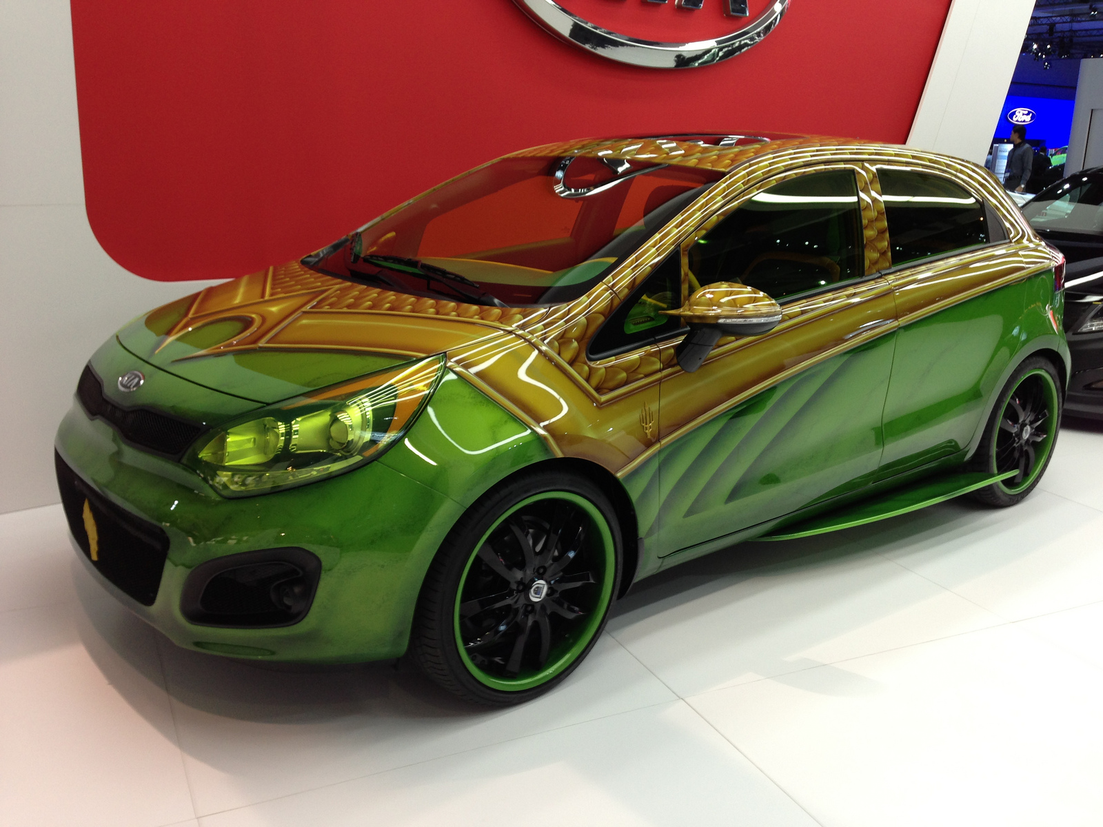Kia Aquaman Car