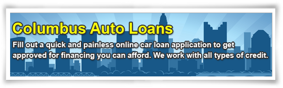 Loans for cars in Columbus Ohio
